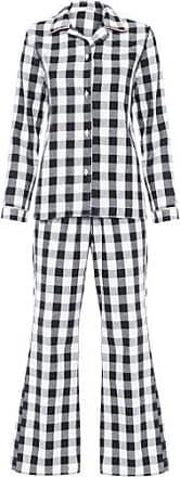 La Rouge Belle Pijama Claire Xadrez La Rouge Belle - Preto