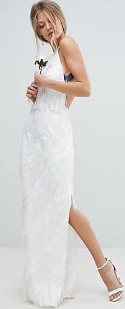 Asos Lange jurk van ASOS EDITION-Wit
