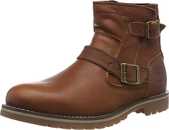 Dockers by Gerli Mens 39wi111 Biker Boots, Brown (Braun 300), 10 UK