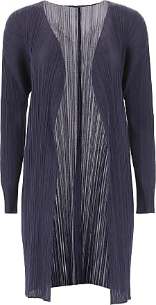 Issey Miyake Sweater for Women Jumper On Sale, navy, polyester, 2017, Universal size