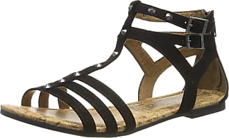 s.Oliver 5-5-28144-22 001, Womens Sling Back Sandals, Black (Black 1), 5 UK (38 EU)