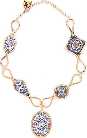 Rosantica Sicilia Multi-tile Pendant Necklace - Womens - Multi