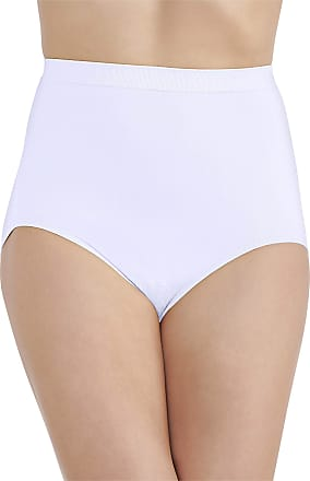 Vanity Fair Womens Perfectly Yours Seamless Tailored Brief Panty 13083, Star White, 8/9