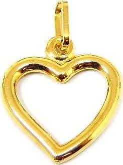 Prado Joias Pingente Em Ouro 18k Coração Grande
