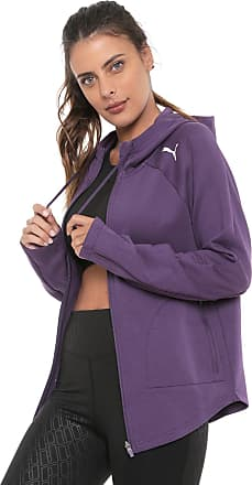 Puma Moletom Puma Evostripe Move Hooded Jacket Roxo