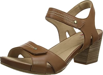 Clarks Womens Un Palma Vibe Sling Back Sandals, Brown (Mahogany Leather Mahogany Leather), 6.5 UK