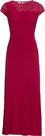 Bodyflirt Dam Maxiklänning med spets i röd utan ärm - BODYFLIRT 8e87649e3ca83