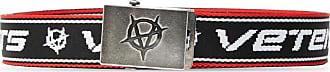 VETEMENTS Logo Belt Mens Black