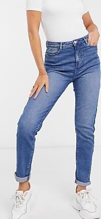 Urban Bliss Mom jeans a lavaggio medio-Blu