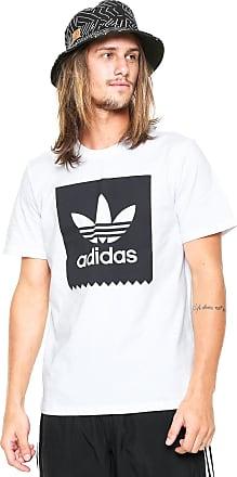 adidas Performance Camiseta adidas Skateboarding Solid Blackbird Branca
