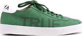MYA haas Tênis Snap Couro Nobuck Furinhos True Love Verde 36