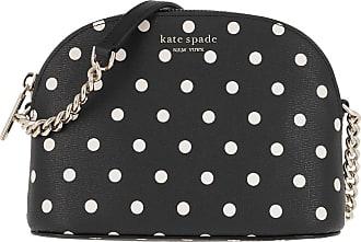 Kate Spade New York Spencer Cabana Dot Small Dome Crossbody Wallet Black Multi Umhängetasche schwarz