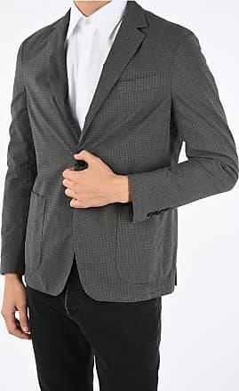 Fay shephards check notch lapel 2-button blazer Größe 52