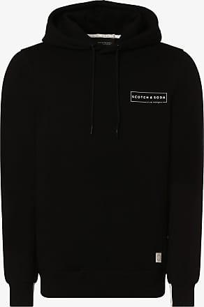 Scotch & Soda Herren Sweatshirt schwarz