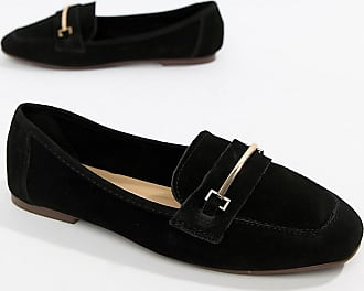 New Look Real Suede Loafer - Black