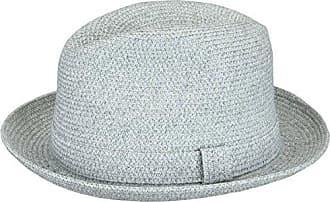 Country Gentleman Mens Braided Fedora Hat, Light Grey/Multi, M