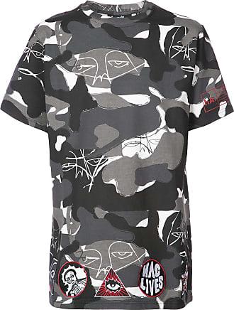 Haculla camouflage print T-shirt - Grey