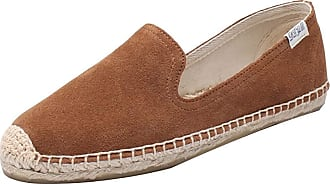 ICEGREY Womens Causal Loafer Flat Slip On Espadrille Brown Suede UK 3.5
