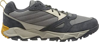 Columbia Mens IVO Trail Walking Shoe, Grey (Monument, Golden Yellow 036), 10.5 (44.5 EU)