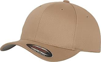 Yupoong Mens Flexfit Fitted Baseball Cap (LXL) (Khaki)