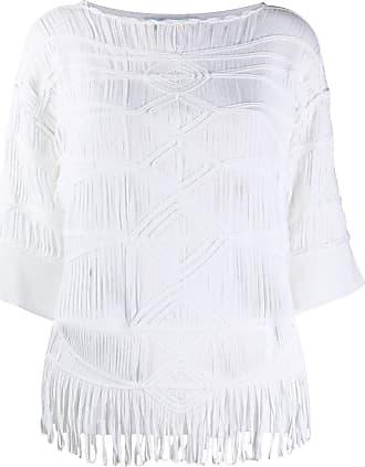 Blumarine Camiseta oversized - Branco