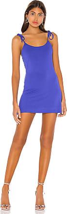 Superdown Desiree Swing Dress in Blue