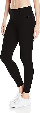 Jockey Womens Ankle Legging with Wide Waistband, Deep Black, X-Large