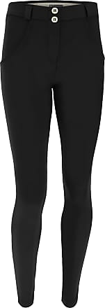 Freddy Womens suede-effect shaping WR.UP trousers