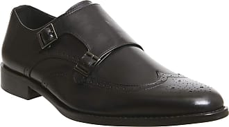 Office Import Brogue Monk Black Leather - 7 UK
