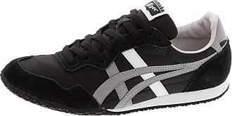 Onitsuka Tiger Unisex Serrano Shoes (11.5, Blk/Lt Grey/Wht)