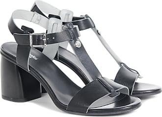 Nero Giardini Sandalo in pelle nero 38