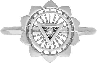 Zoe & Morgan Dritter Chakra-Silberring - MEDIUM - Silver