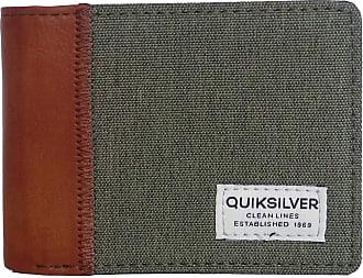 Quiksilver Mens Freshness Plus Wallets, Kalamata, Medium 4.25 3.25 (h) / 11.5(w) x 9(h) cm EU
