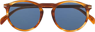 David Beckham Óculos de sol redondo DB 1009 - Marrom