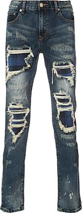 Gods Masterful Children distressed skinny jeans - Blue