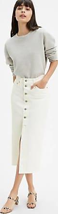 Levi's Button Front Skirt - Neutral / Neutral