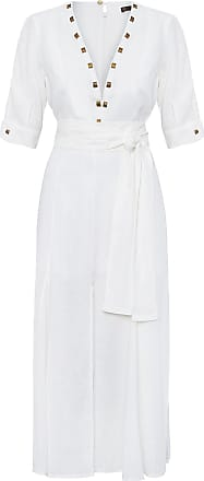 Vix Vestido Longo Miss Solid - Off White
