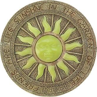 Zingz & Thingz Sun Glow-In-The-Dark Garden Stepping Stone