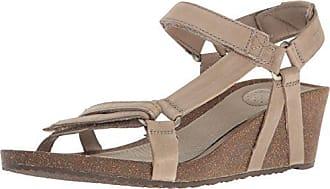 Teva Womens W Ysidro Universal Wedge Sandal, Taupe, 10 M US