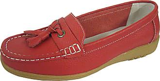 Footwear Studio Womens Leather COOLERS PREMIER Smart Moccasins Sandals Ballerinas Flats Loafers