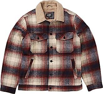 Billabong Mens Barlow Sherpa Jacket, Blue, Small
