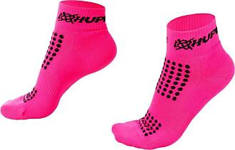 Hupi Meia para Corrida Hupi Running Pro Rosa Neon - Curta, Cor: Rosa, Tamanho: Único