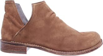 Officine Creative Womens Shoes Ankle Boots Legrand /135 Softy Cognac Suede New