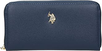 U.S.Polo Association U.S. POLO ASSN. Jones L Zip Around Wallet Navy