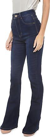 Sawary Calça Jeans Sawary Flare Aceco Azul