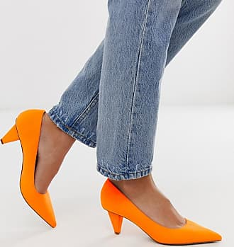 ASOS PRIORITY High Heels in weiter Passform Orange
