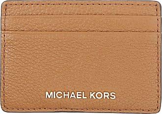 739eba88e8 Michael Kors Porta Carte di Credito da Donna On Sale, Ghianda, pelle, 2017