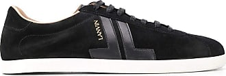 Lanvin Fashion Man FMSKDLONSUNAP2010 Black Suede Sneakers | Spring Summer 20