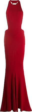Alexandre Vauthier Vestido com detalhe de recortes - Vermelho