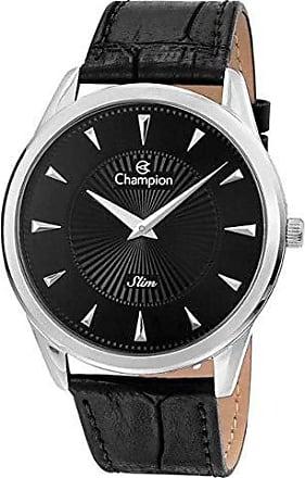 Champion Relógio Champion Masculino Slim Pulseira De Couro Ca21768t